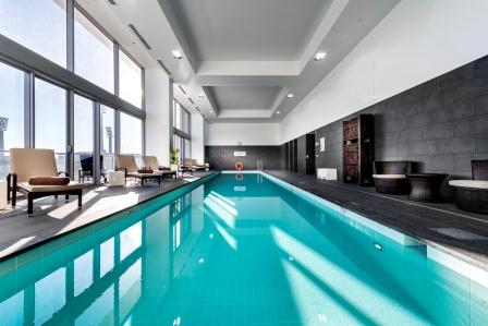 Indoor Pool at Fraser Suites Perth - Citybase Apartments