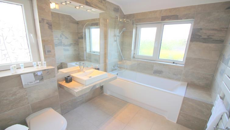 Bathroom at the Peymans Never Land Apartments - Citybase Apartments