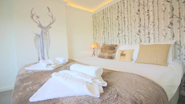 Cosy bed at the Peymans Never Land Apartments - Citybase Apartments