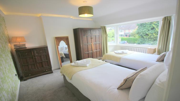 Comfortable beds at the Peymans Never Land Apartments - Citybase Apartments