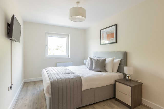 Bedroom at Solstice House Apartments - Citybase Apartments