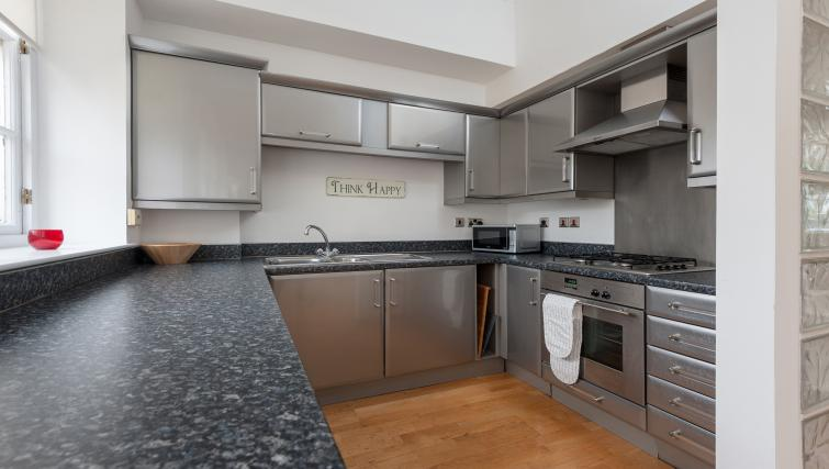 Equipped kitchen at College Street Apartment - Citybase Apartments