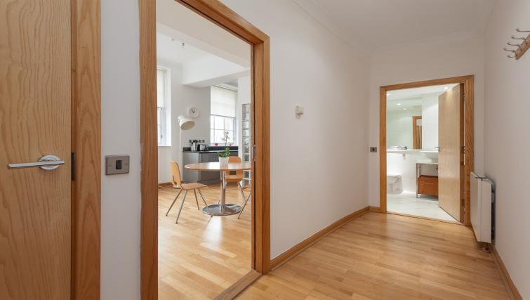 Wooden flooring at College Street Apartment - Citybase Apartments