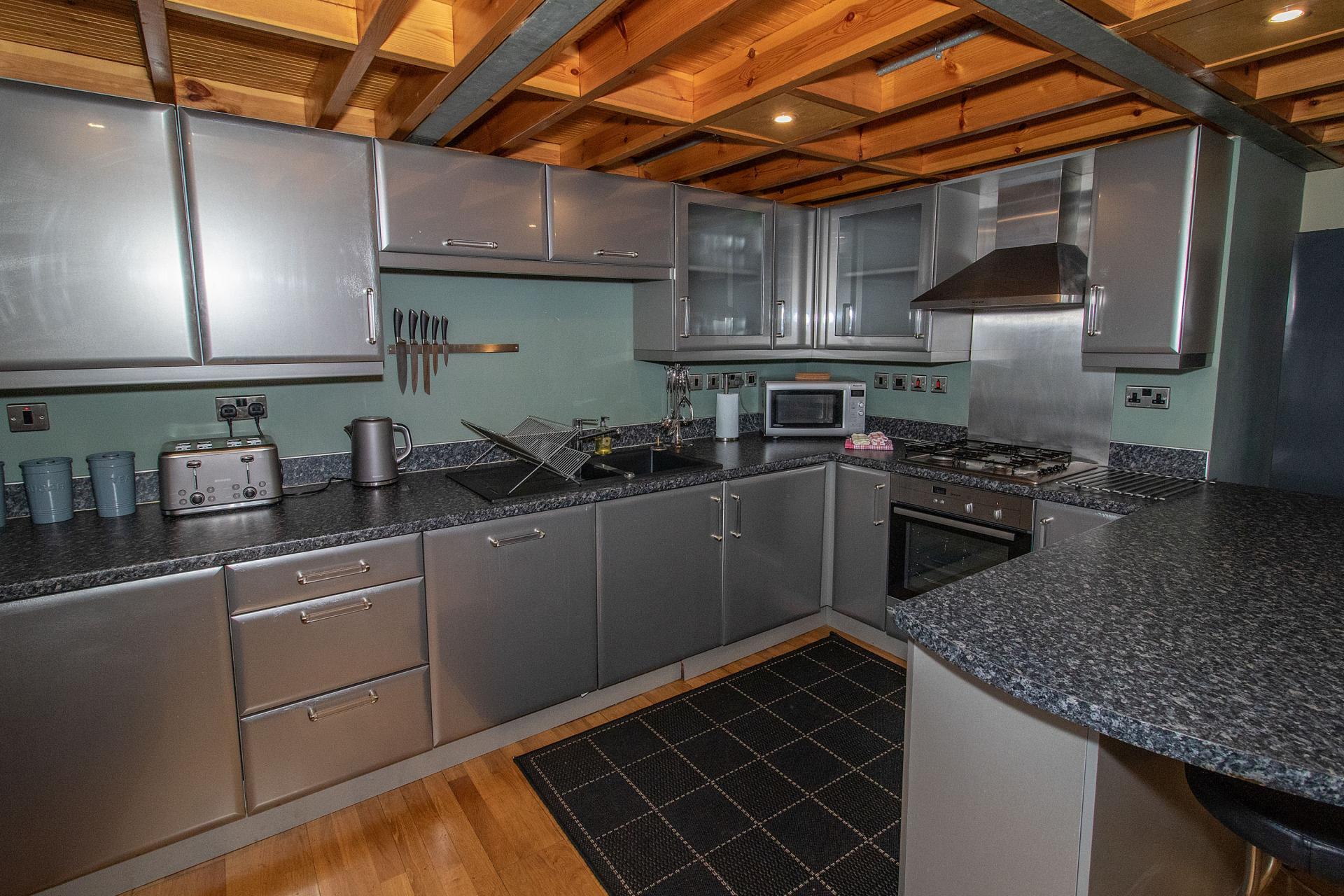 Modern kitchen at College Street Apartment - Citybase Apartments