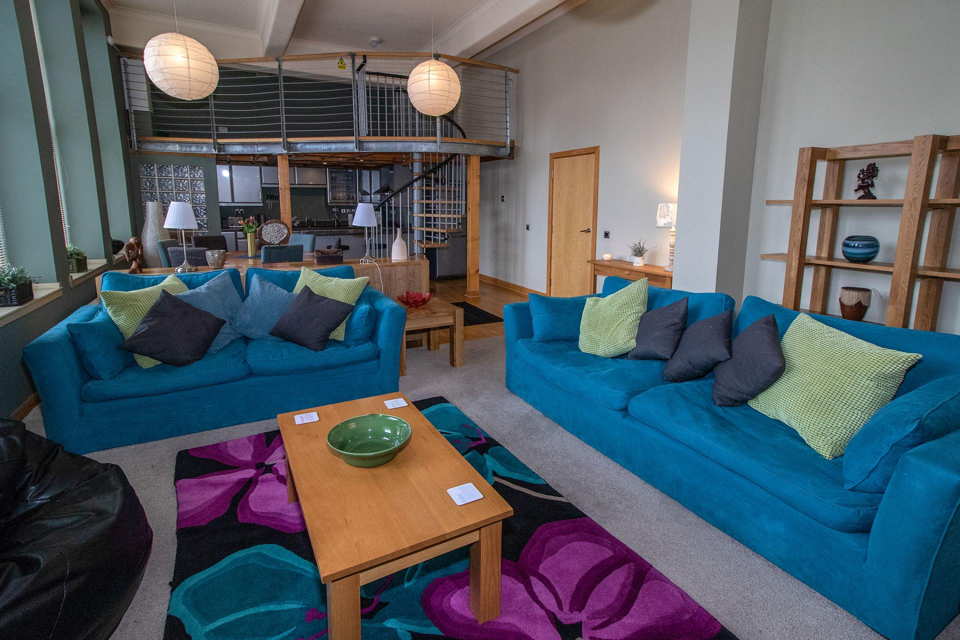 Lounge at College Street Apartment - Citybase Apartments