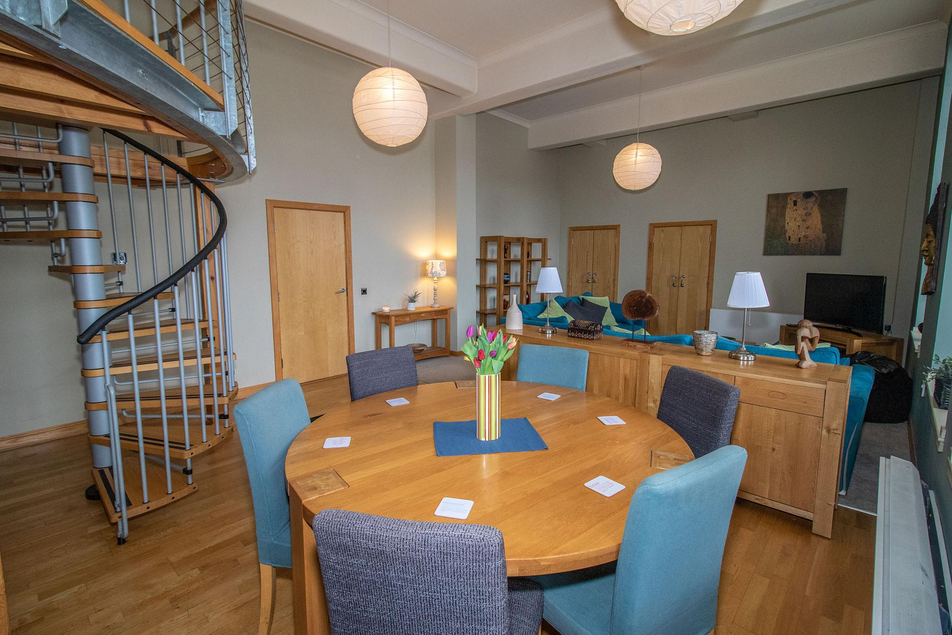Dining area at College Street Apartment - Citybase Apartments