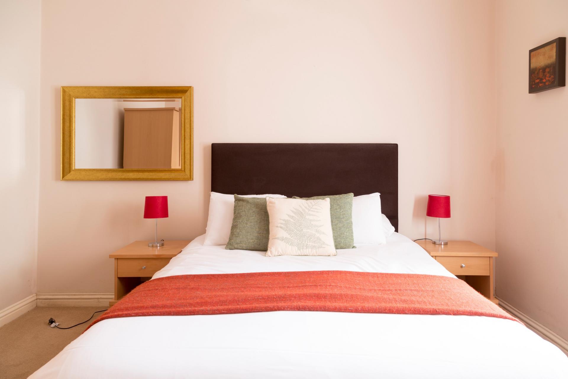 Bedding at Norwich Street Cambridge Apartments - Citybase Apartments