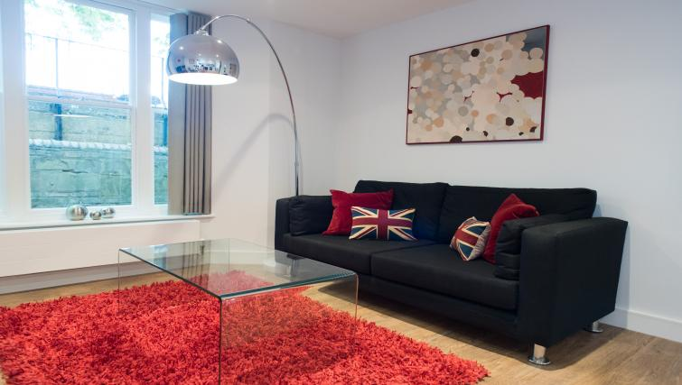 Ideal living area at Jubilee House Apartments - Citybase Apartments