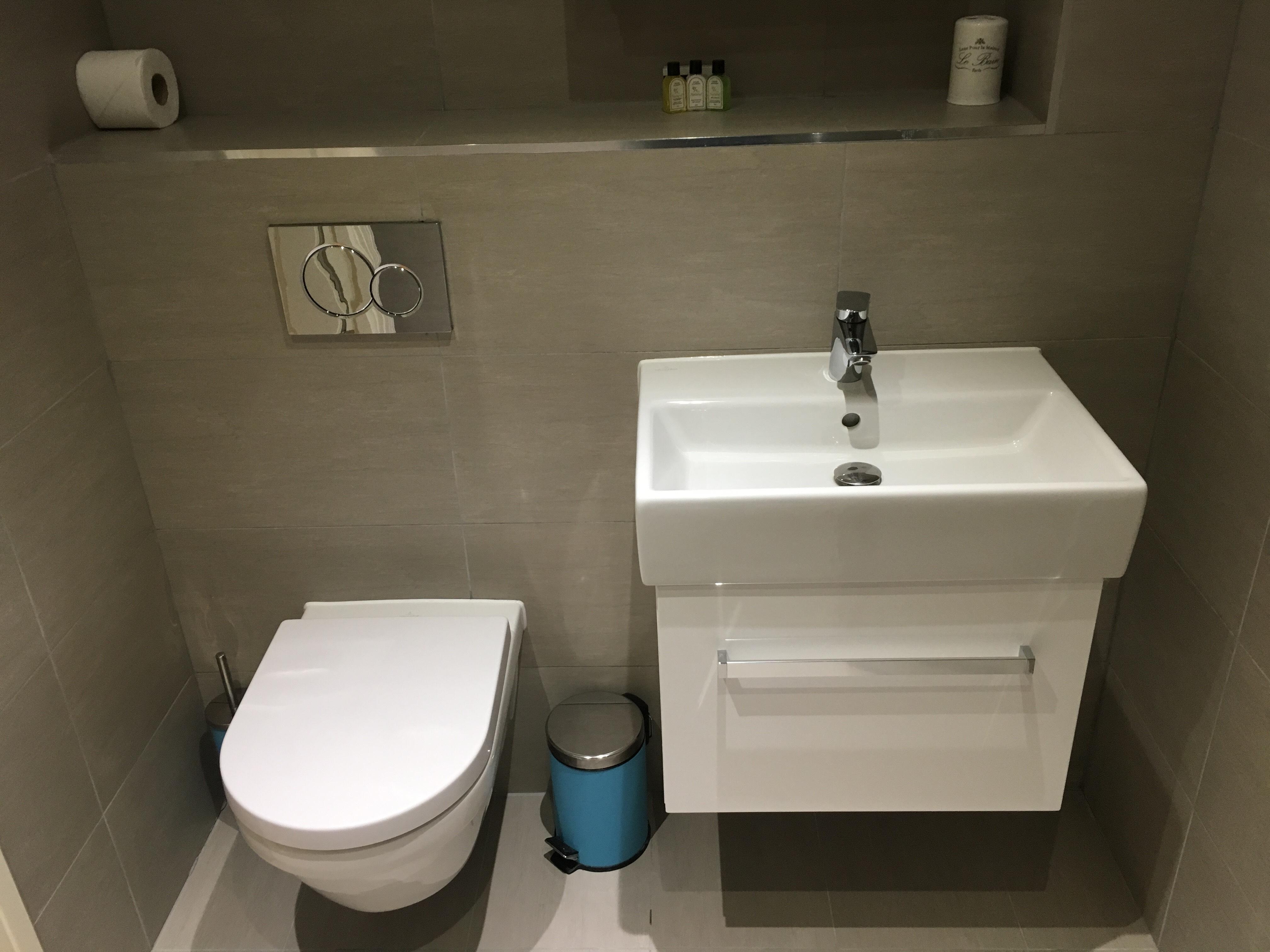 Sink at Still Life Warren Street Apartment - Citybase Apartments
