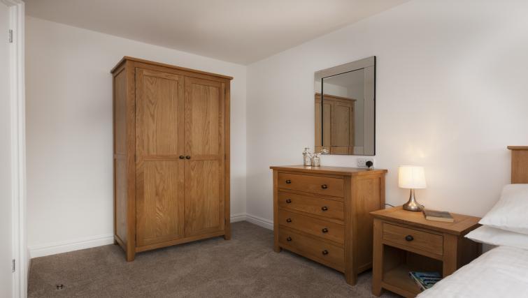 Bedroom storage at Beaver Green Apartment - Citybase Apartments