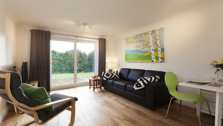 Spacious living area at Beaver Green Apartment - Citybase Apartments