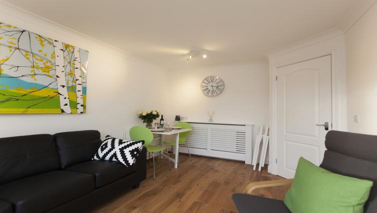 Stylish living area at Beaver Green Apartment - Citybase Apartments