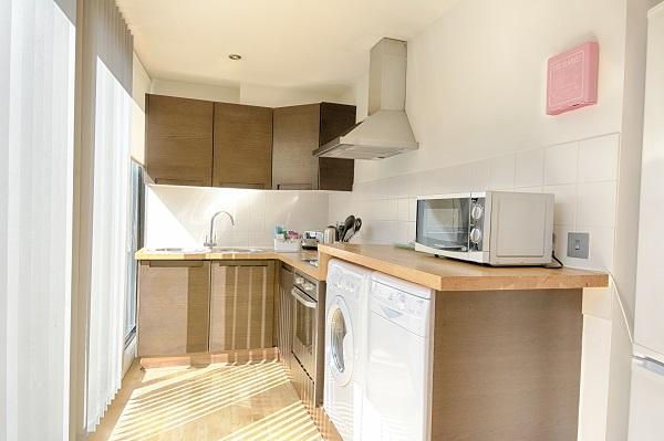 Kitchen at Watling Street Apartments - Citybase Apartments