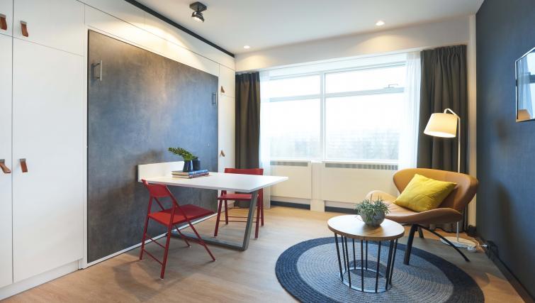 Bright studio at Cityden Up Apartments, Amsterdam - Citybase Apartments