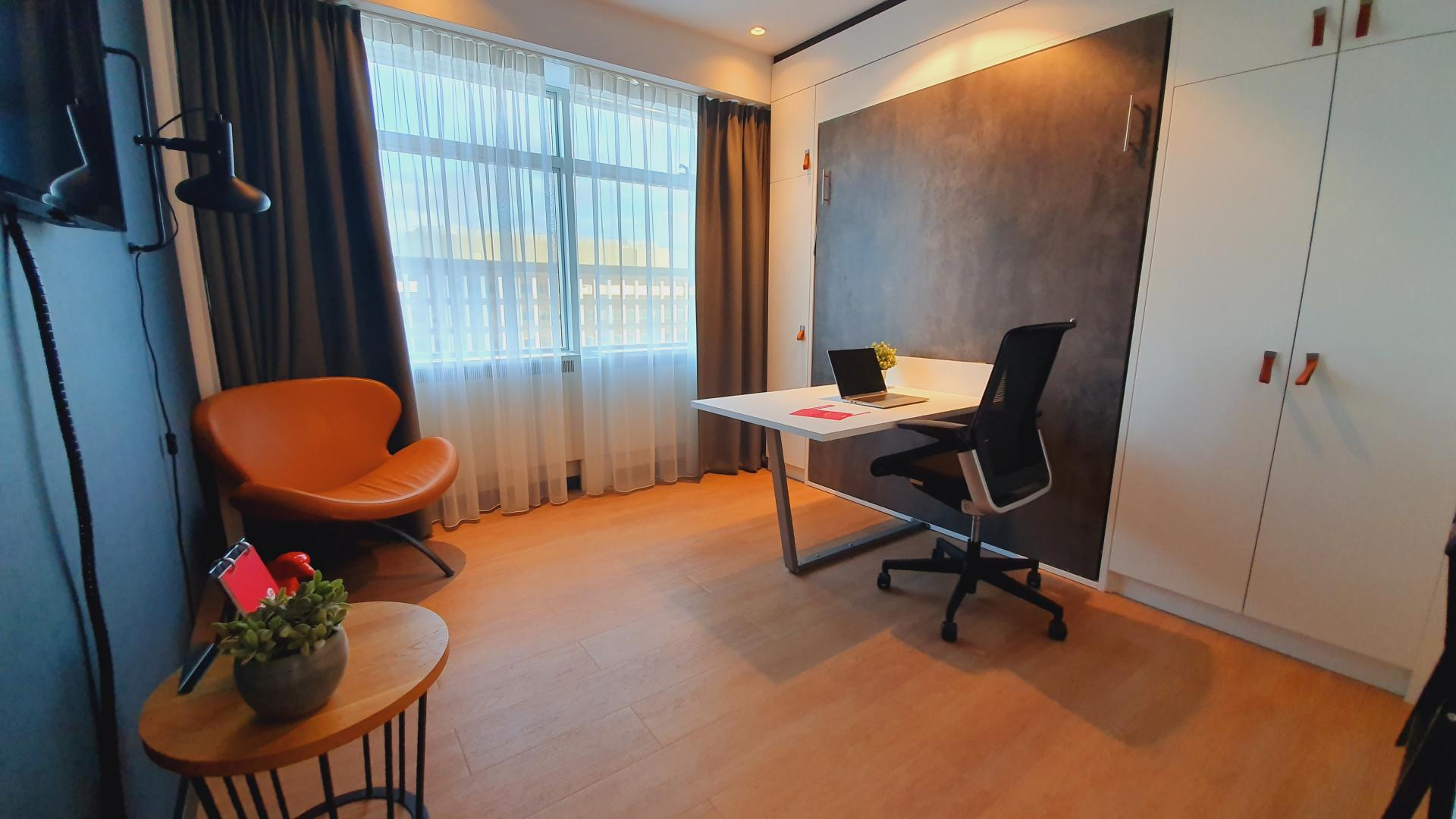 Desk at Cityden Up Apartments, Amsterdam - Citybase Apartments