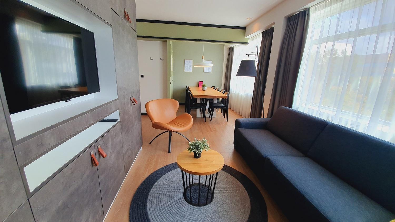 TV at Cityden Up Apartments, Amsterdam - Citybase Apartments