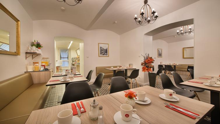 Breakfast room at Suite Home Prague - Citybase Apartments