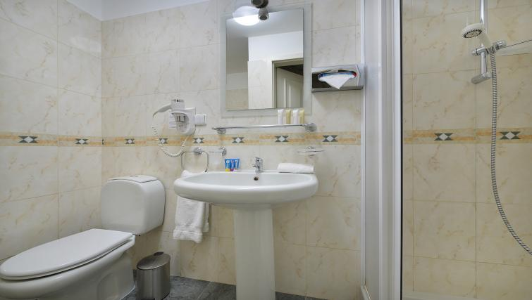 Clean bathroom at Suite Home Prague - Citybase Apartments