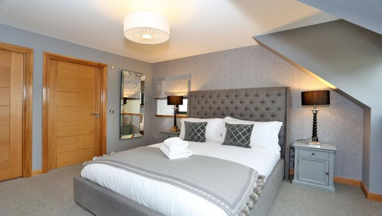 Comfortable bedroom at West Cults Apartments - Citybase Apartments