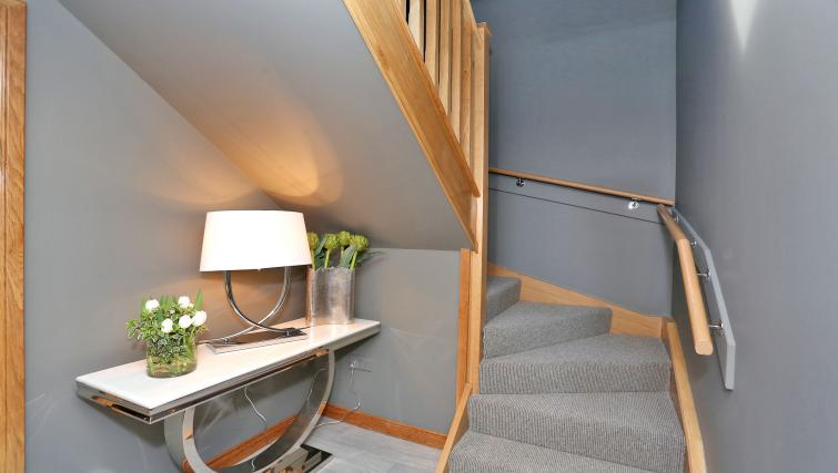 Staircase at West Cults Apartments - Citybase Apartments