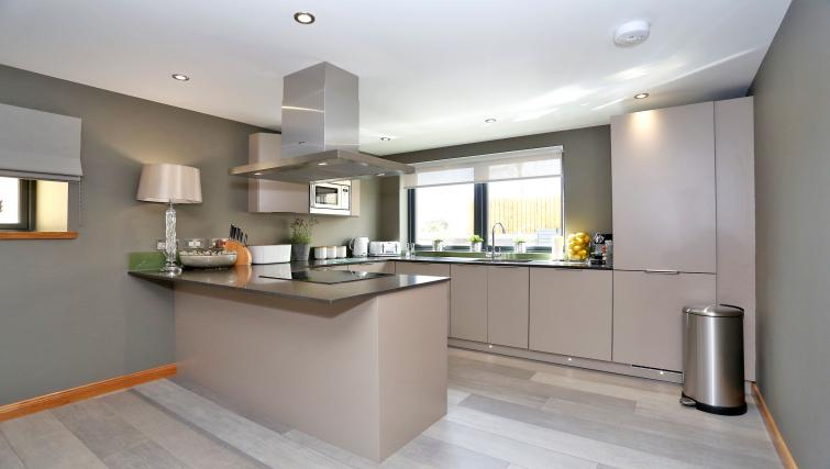 Fully equipped kitchen at West Cults Apartments - Citybase Apartments