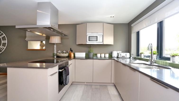 Modern kitchen at West Cults Apartments - Citybase Apartments