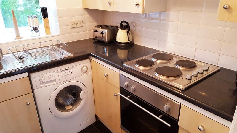 Kitchen at Latium Close Apartment - Citybase Apartments