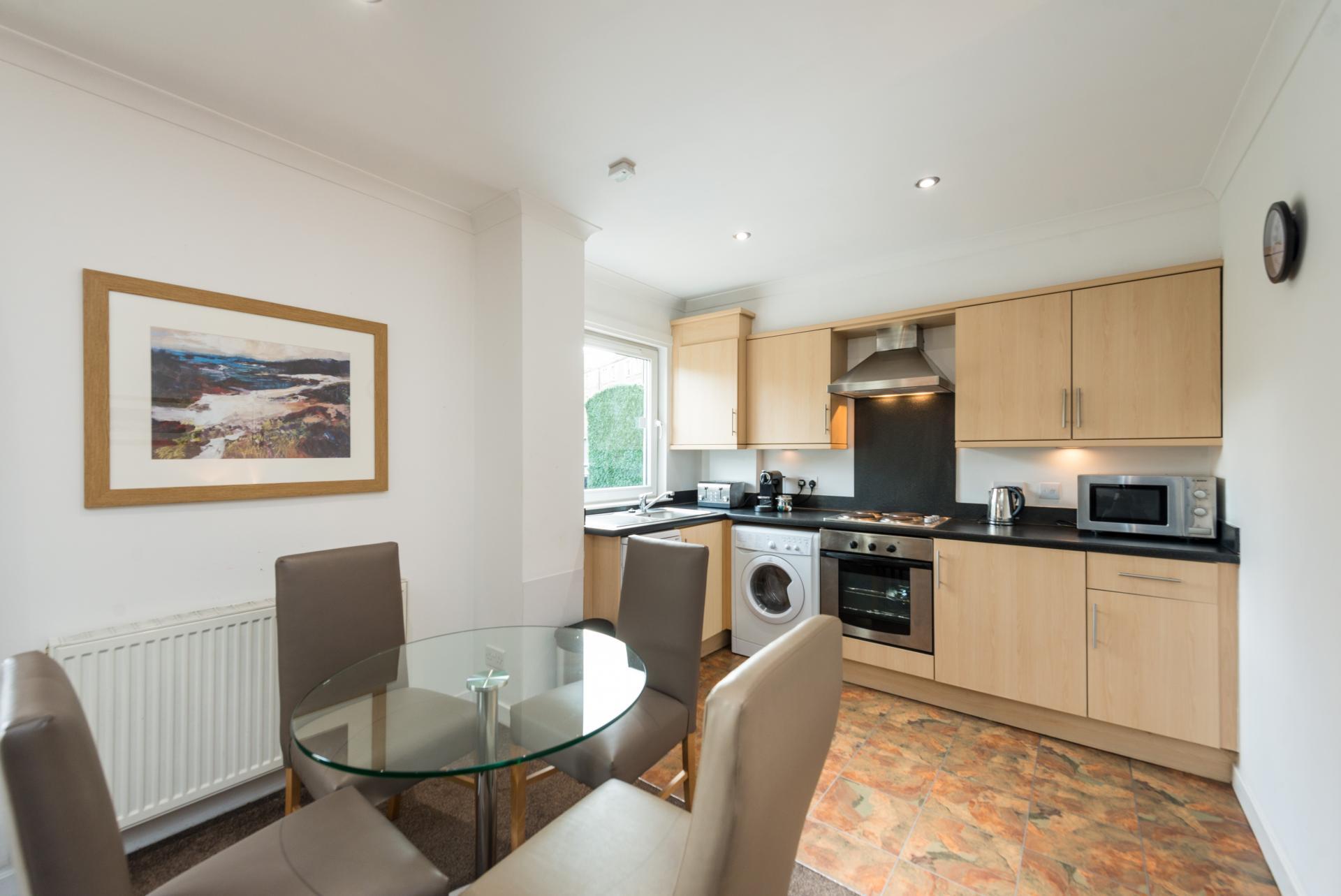 Kitchen at Harris Apartments - Citybase Apartments