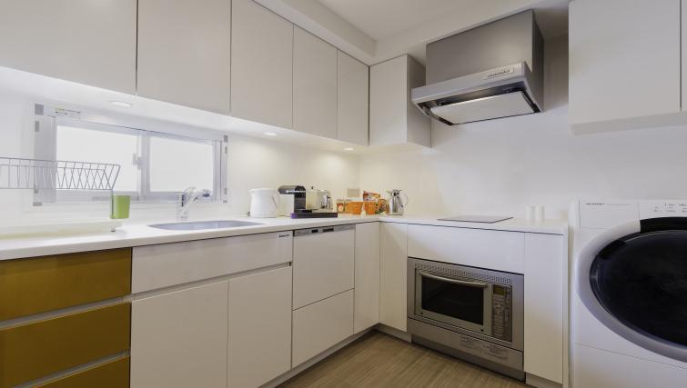 Kitchen at Oakwood Apartments Azabudai - Citybase Apartments