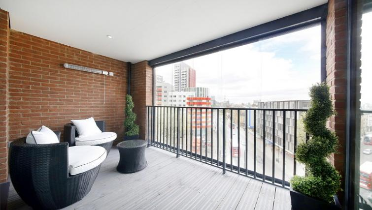 Terrace at The Roka Apartments - Citybase Apartments