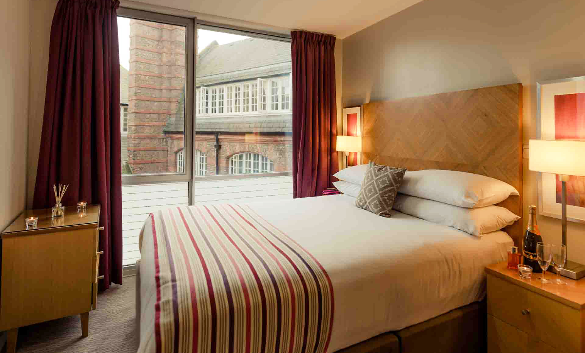 Room at Premier Suites Liverpool - Citybase Apartments