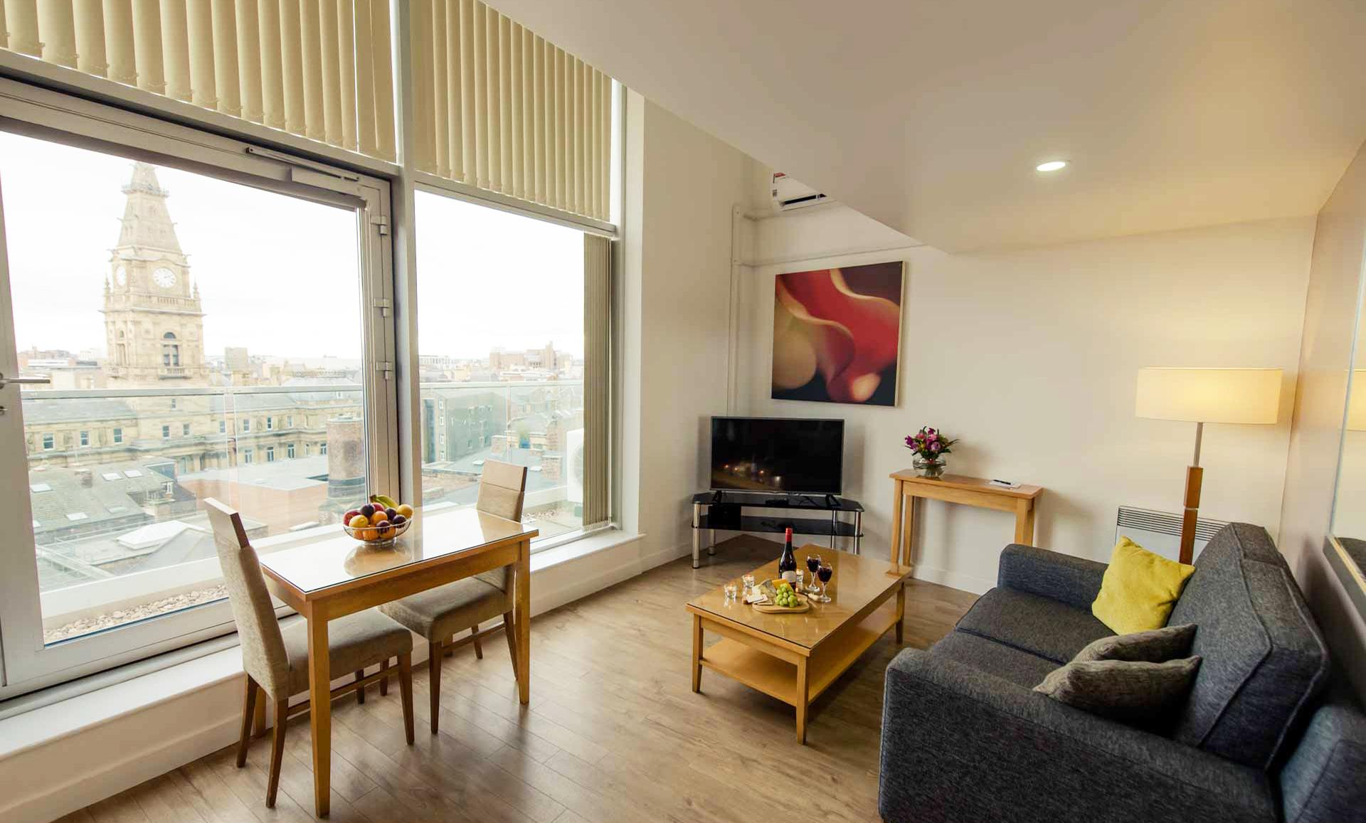 View at Premier Suites Liverpool - Citybase Apartments