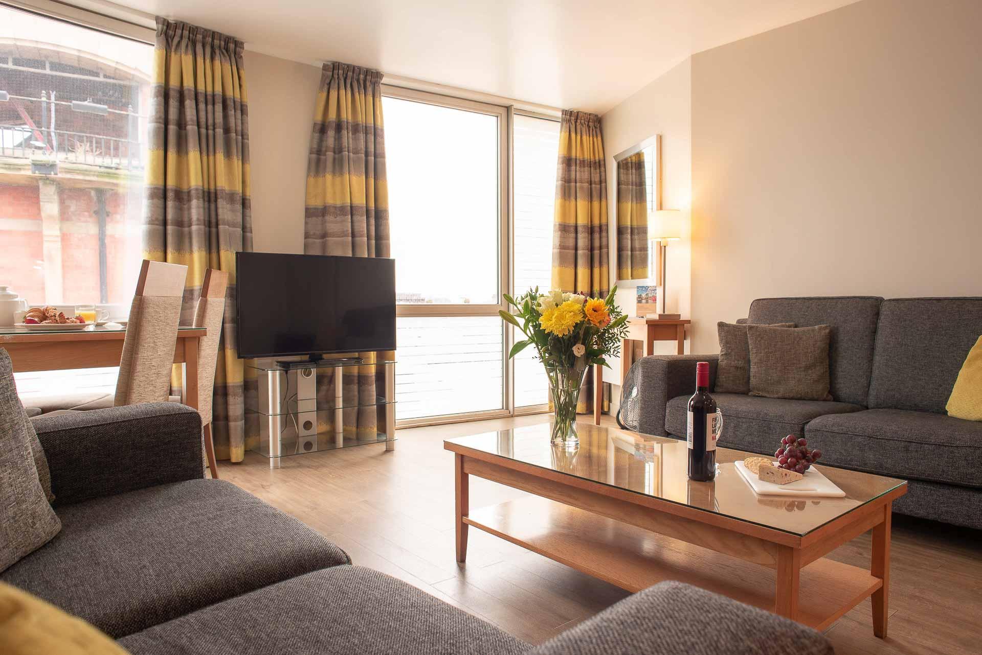 TV at Premier Suites Liverpool, Centre, Liverpool - Citybase Apartments