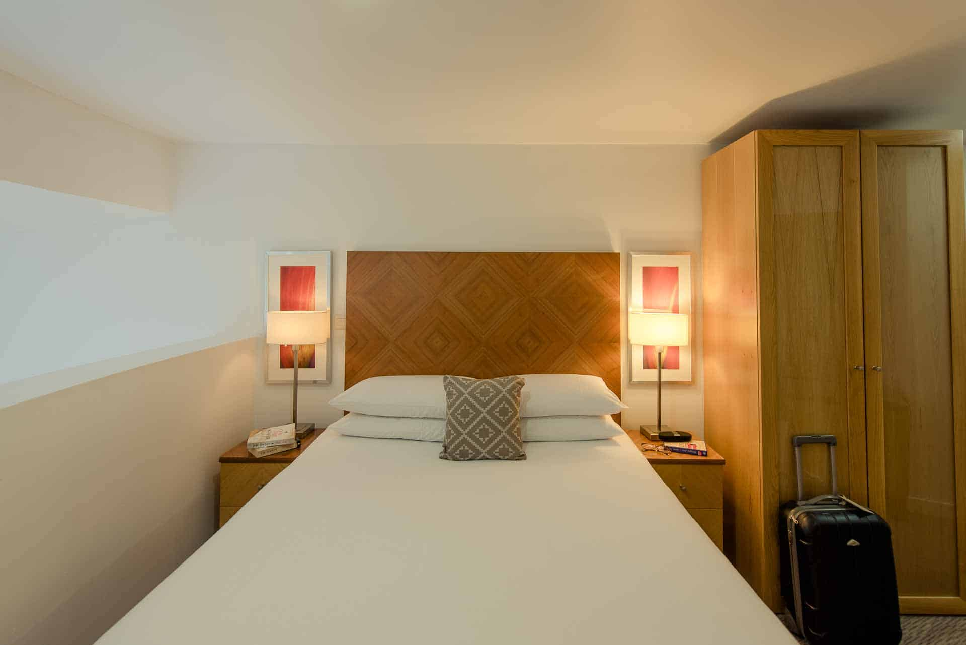 Compact bedroom at Premier Suites Liverpool, Centre, Liverpool - Citybase Apartments
