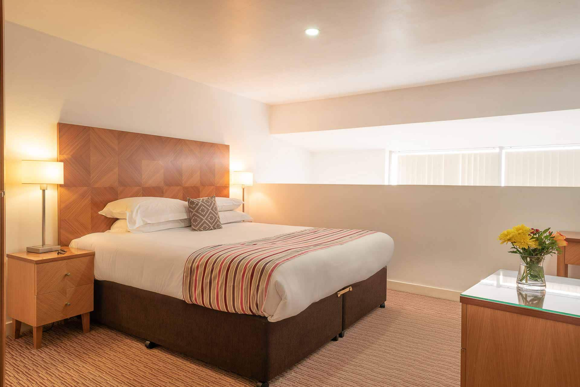 Large bedroom area at Premier Suites Liverpool, Centre, Liverpool - Citybase Apartments