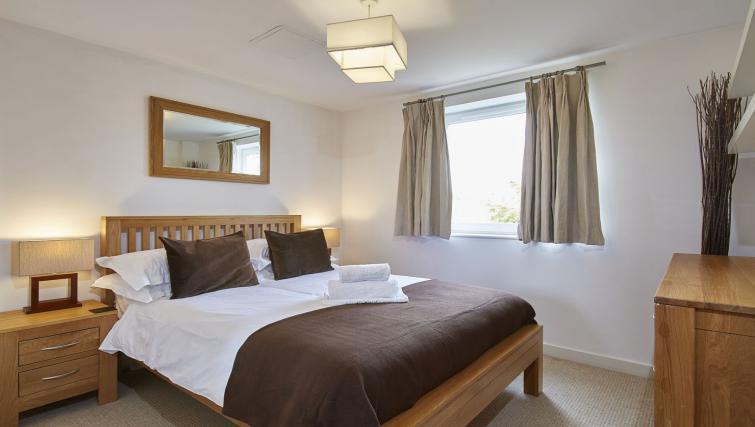 Bedroom at Riverbank Point Apartments - Citybase Apartments