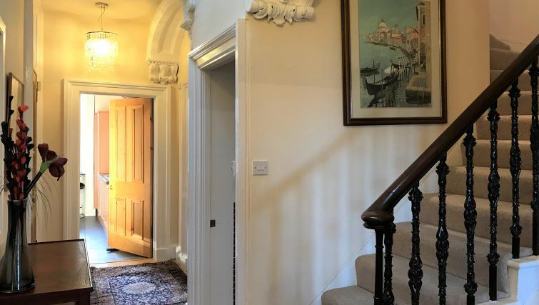 Hallway at Crown Circus Apartment - Citybase Apartments