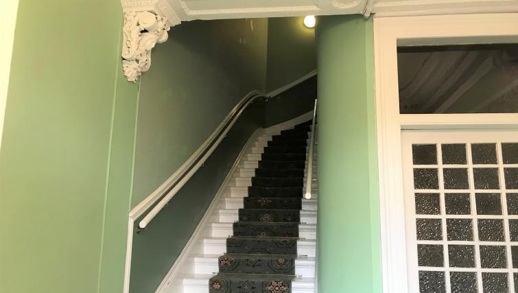 Staircase at Crown Circus Apartment - Citybase Apartments