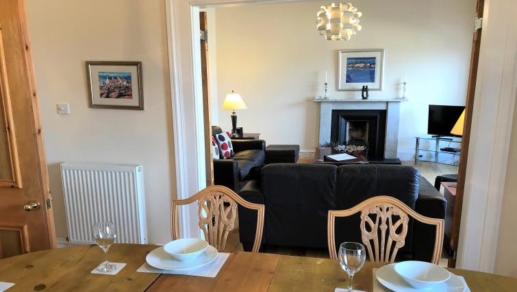 Dining table at Crown Circus Apartment - Citybase Apartments