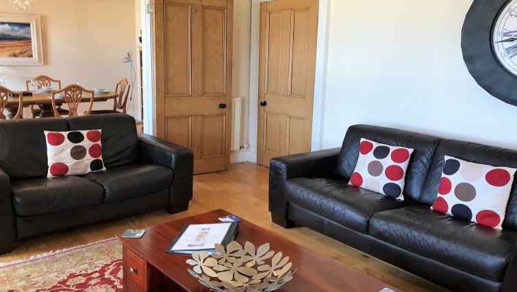 Sofa at Crown Circus Apartment - Citybase Apartments