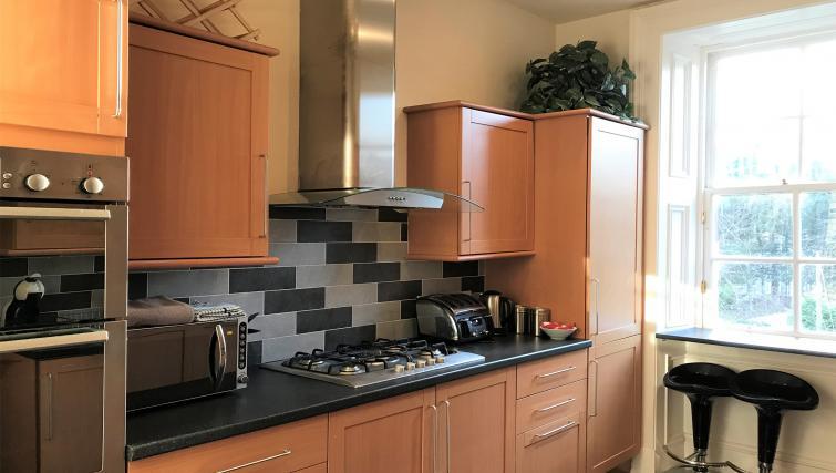 Kitchen at Crown Circus Apartment - Citybase Apartments