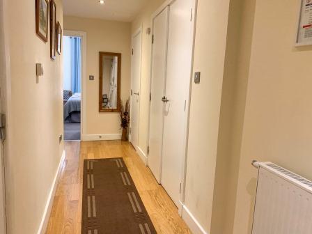Hallway at Principal Ingram Apartment - Citybase Apartments