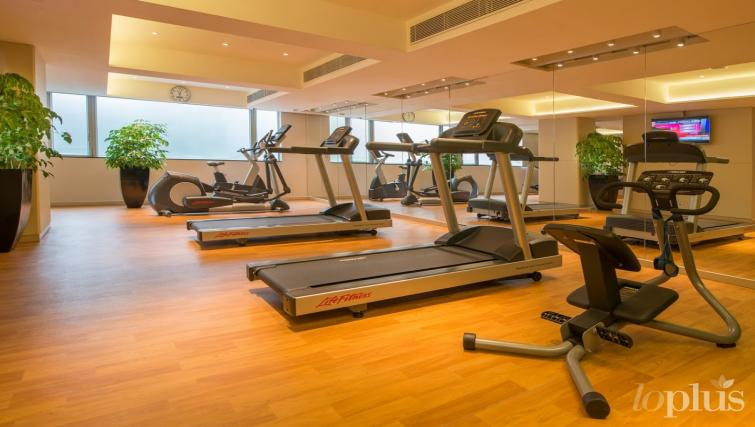 Fitness centre at Hennessy Apartments - Citybase Apartments