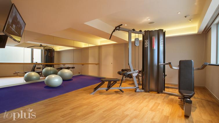 Gym at Hennessy Apartments - Citybase Apartments