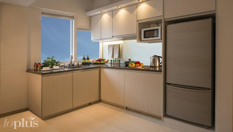 Open kitchen at Hennessy Apartments - Citybase Apartments