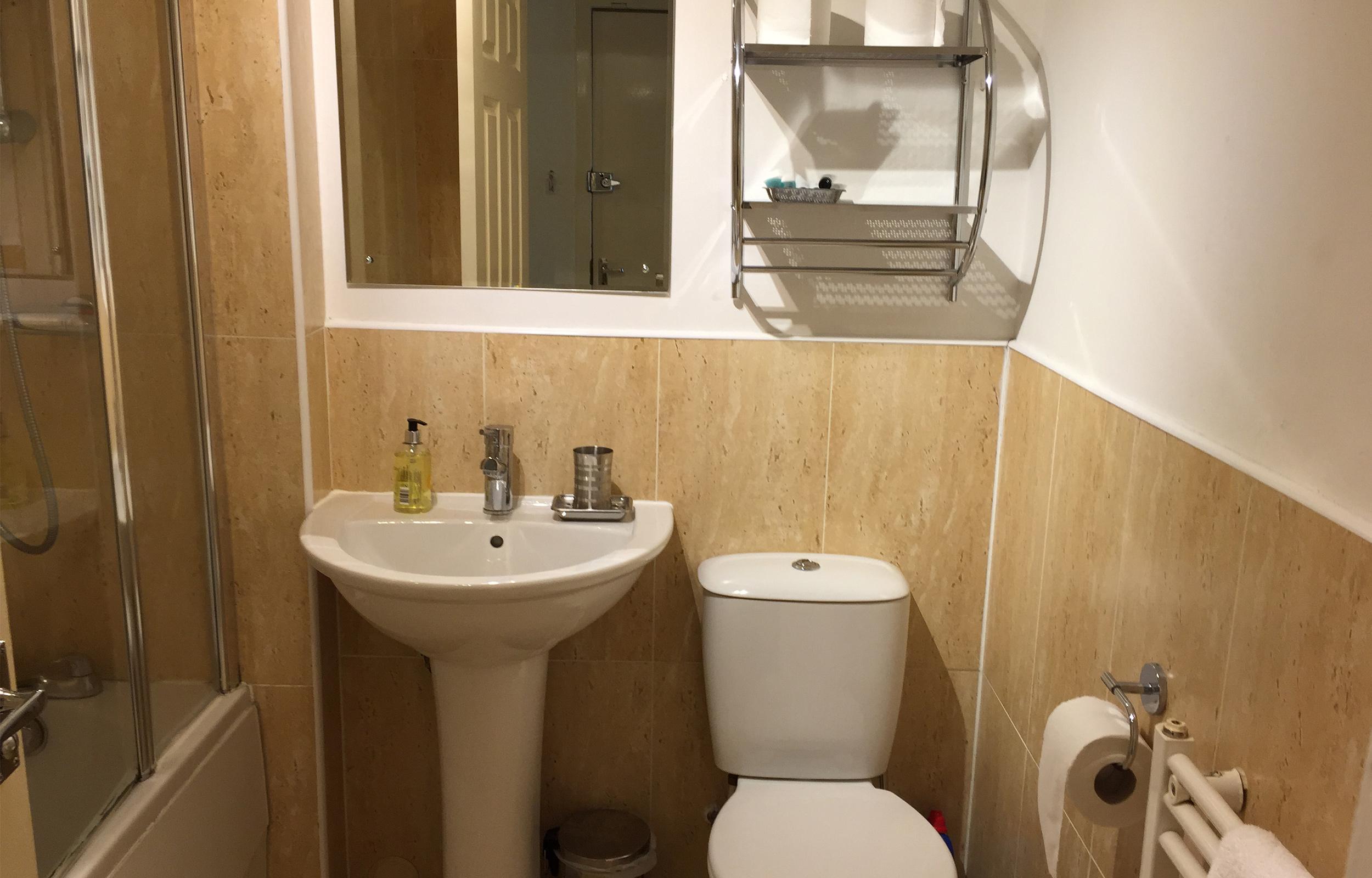 Bathroom at Lansdowne Garden Apartments - Citybase Apartments