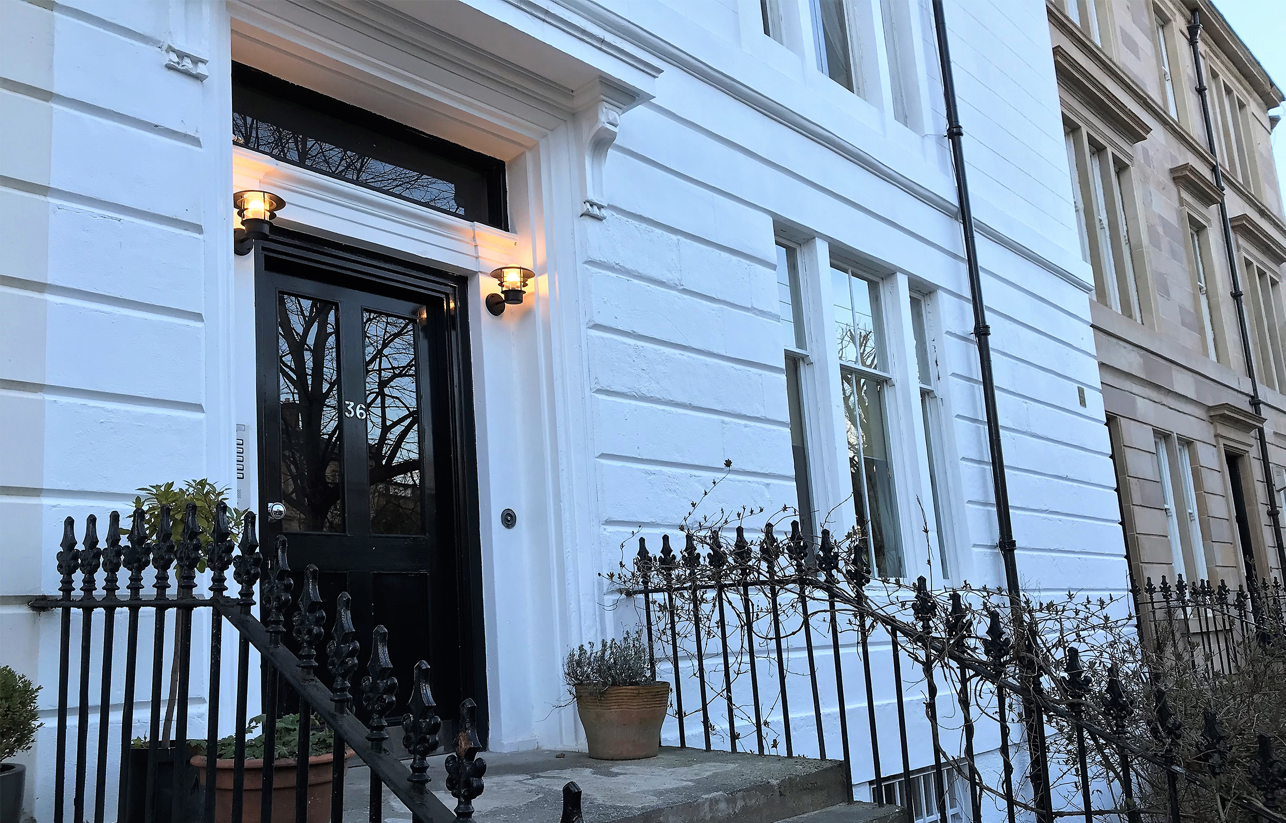 Exterior of Lansdowne Garden Apartments - Citybase Apartments
