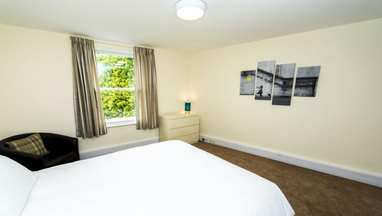 Bright bedroom at Derby Centre Apartments - Citybase Apartments