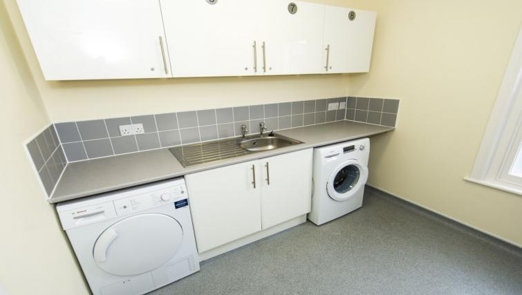 Washer and dryer at Derby Centre Apartments - Citybase Apartments
