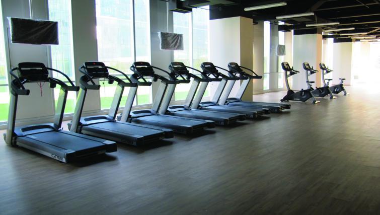 Gym at Carso Apartment - Citybase Apartments